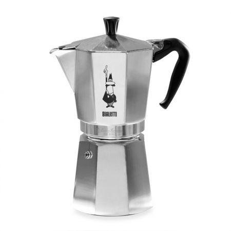Гейзерная кофеварка Bialetti Moka Express (12 чашек - 720 мл), фото 1
