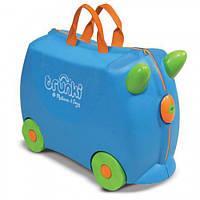 Валіза дитячий на колесах Bernard, блакитний Trunki TRU-B054