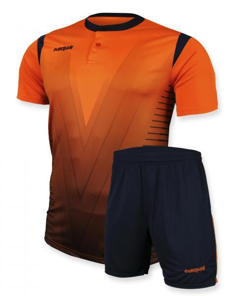 Футбольная форма Europaw 011 оранжевая 2XS