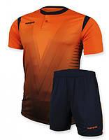 Футбольная форма Europaw 011 оранжевая 2XS, фото 1