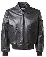 Кожаная куртка Boeing CWU 45/P Leather Bomber Jacket (черная)