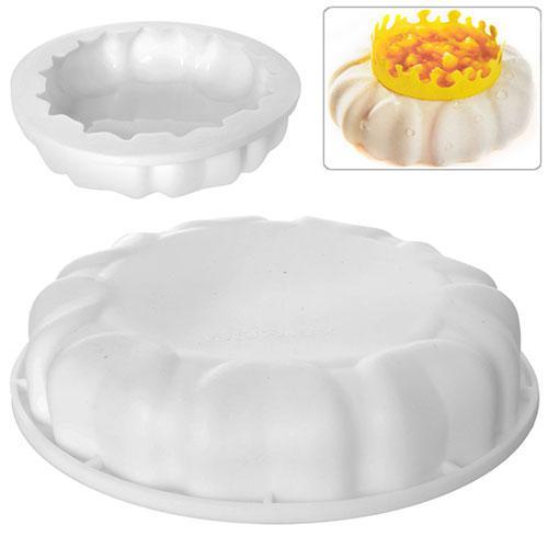 Форма силиконовая для выпечки Petal 18*5см