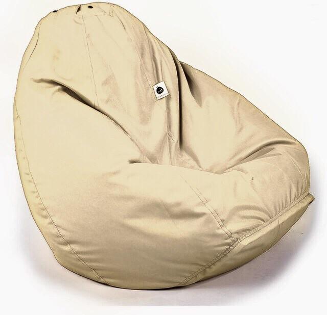 Кресло-груша XXL | ткань Oxford Бежевый
