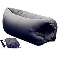 Надувной матрас Ламзак Lamzac AIR CUSHION sofa -- Чёрный