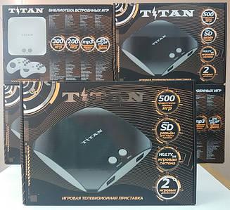 Игровая приставка Титан 3 со встроенными играми Sega Mega Drive 2 16 Bit Сега Мега Драйв 2 16 Бит Денди 8 Бит