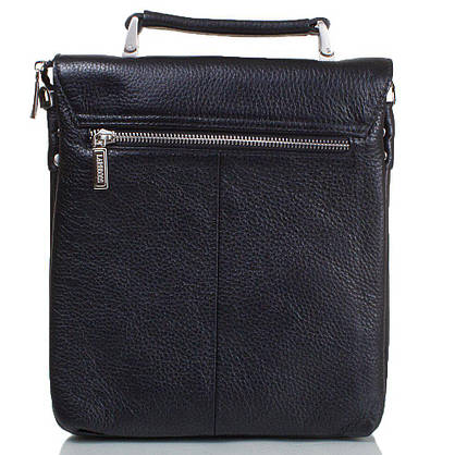 Мужская кожаная сумка LARE BOSS (ЛАРЕ БОСС) TU49560-3-black, фото 2