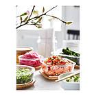 Контейнер для хранения продуктов IKEA 365+ 600 мл квадратный стеклянный 003.592.06, фото 3