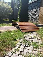 Мостик садовый декоративный  МС-6 без былец 1,8м, фото 1