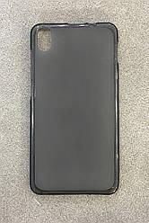 Силиконовый чехол-накладка дляLenovo S660 (Black)