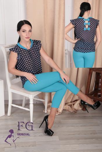 Женский батальный костюм «Тринити»| 50-54 размеры