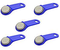 Ключ контактный с кодом TM1900A-F аналог Dallas iButton (5 штук в наборе)