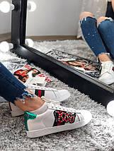 Размер 41 и 44 !!! Мужские кроссовки Gucci R/G / кроссовки Гуччи - змейка /Реплика (1:1 к оригиналу), фото 2
