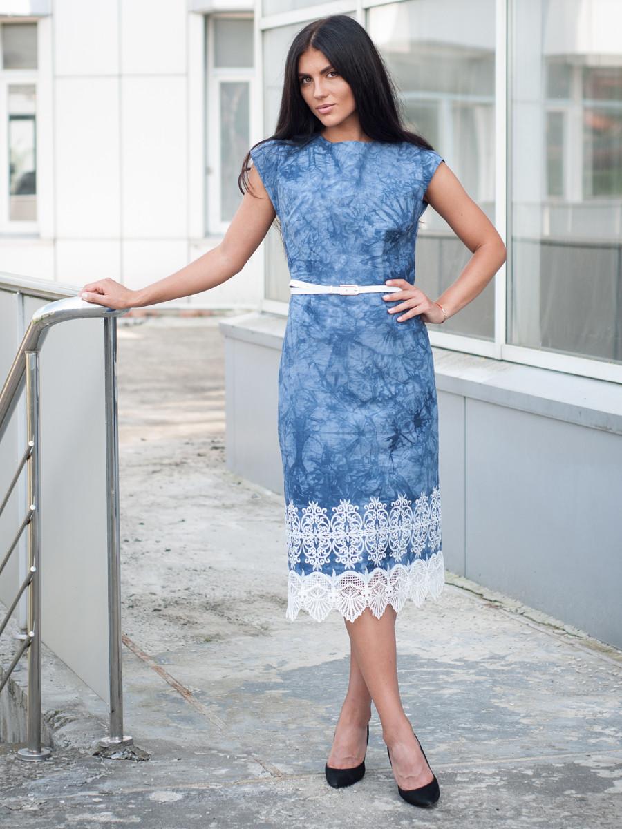 Изысканное женское платье Аркадия ниже колена