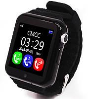 Smart Baby Watch Умные детские смарт-часы V7K!  Черный