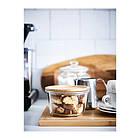 Контейнер для хранения продуктов IKEA 365+ 600 мл круглый стеклянный 303.591.96, фото 5