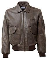 Кожаная куртка Boeing CWU 45/P Leather Bomber Jacket (коричневая)