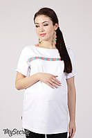 Летняя туника для беременных и кормящих AMINA, фото 1