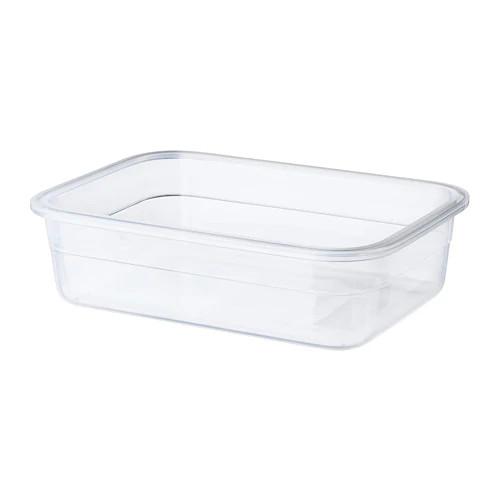 Контейнер для хранения продуктов IKEA 365+ 1 л прямоугольный пластик 403.591.48
