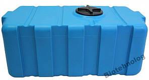 Дарим 100 грн на доставку. Бак, бочка, емкость 300 литров пищевая прямоугольная, крышка d 22 см SG, фото 2