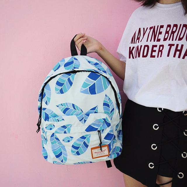 Молодежный рюкзак Листья