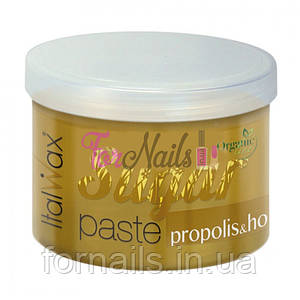 Сахарная паста для шугаринга ItalWax Organic Line Мёд и прополис, мягкая (750 г)