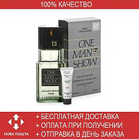 Jacques Bogart One Man Show EDT 100ml + AFTER SHAVE BALM 3ml (туалетная вода Якобс Богарт Ван Мен Шоу)