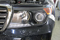 Toyota LC 200 - замена ксеноновых линз на светодиодные Bi-LED KOITO