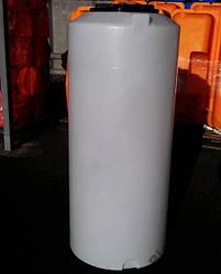 Дарим 119 грн на доставку. Бак, бочка с метками уровня 470 литров емкость пищевая вертикальная 500 450 400 V