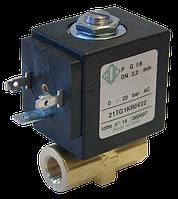 Электромагнитный клапан прямого действия 21TG2KR0V40 (ODE, Italy), G 1/4, Купить в Киеве