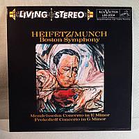 Mendelssohn — Concerto In E Minor • Prokofieff — Concerto In G Minor ~ Хейфец • Munch, Boston Symphony