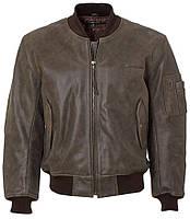 Кожаная куртка Boeing MA-1 Leather Flight Jacket (коричневая)