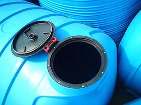 Дарим 790 грн на доставку. Бак, бочка 5000 л емкость усиленная перевозки воды, КАС с перегородками, фото 2