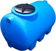 Емкость 500 литров бак, бочка пищевая горизонтальная 505 G