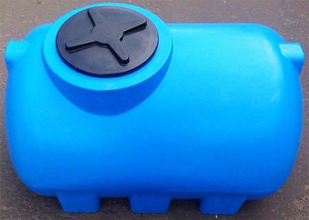 Емкость 505 литров бак, бочка пищевая горизонтальная 500 G, фото 2