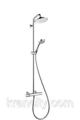 Душевая система с Термостатом HANSGROHECroma 220 Showerpipe 27185000