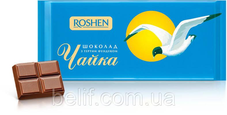 Плитка шоколадная Чайка, 100 гр. (24 шт/уп)