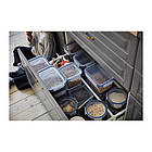 Контейнер для хранения продуктов IKEA 365+ 750 мл круглый пластик 003.591.45, фото 3