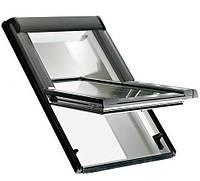 Мансардное окно Roto Designo R45 K 7/9 (ПВХ рама, однокамерный стеклопакет с Аргоном)