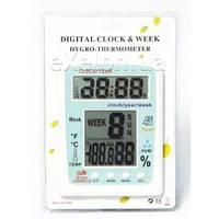 Термометр-гигрометр комнатный (метеостанция) TS KT 201, термометр, метеостанция, настольный термометр
