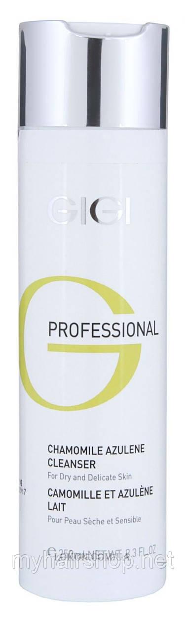 Очищающее молочко GIGI Chamomile Azulene Cleanser for Dry and Delicate Skin 250 мл