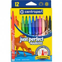 Фломастеры Centropen Perfect 12 шт (2510-12)