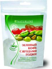 Зелений кава з ягодами годжі 100г