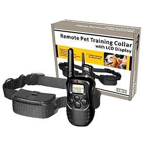 Ошейник для контроля собак Remote Pet Dog Training Collar with LCD Display  + ПОДАРОК: Настенный Фонарик с, фото 2