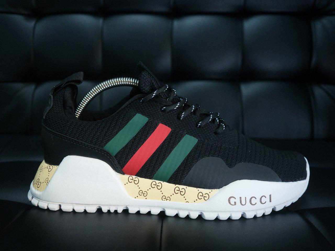 Кроссовки Adidas Guccі. Колаборация брендов в одной модели мужских ... a0534172eab