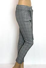 Жіночі класичні брюки в клітинку Platonik, фото 2