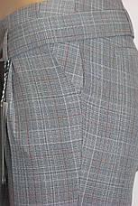 Жіночі класичні брюки в клітинку Platonik, фото 3