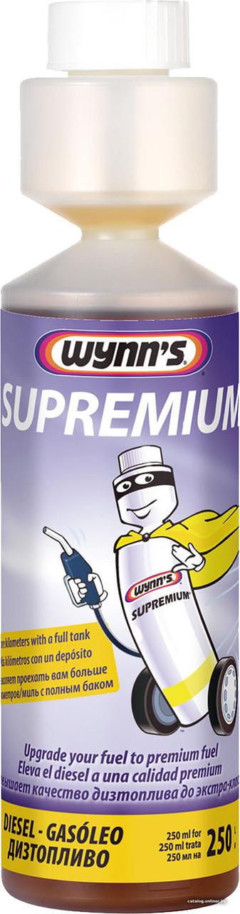 Присадка в дизельное топливо Wynns Supremium Diesel W22911 (250 мл.)