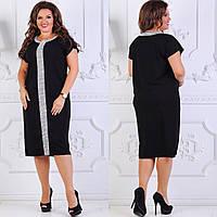 Платье женское батал по 56 размер  ндев320, фото 1