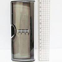 Футляр пластиковый для 2х ручек, 16см, прямоугольный, серая подложка, Josef Otten