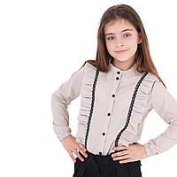 Модная блузка с рюшами для девочки и подростка
